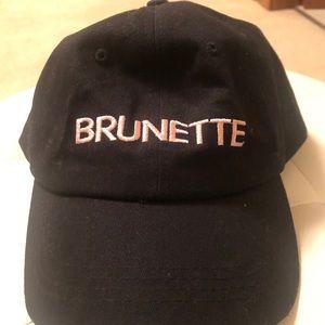"""Brunette the Label """"Brunette"""" Baseball Cap"""